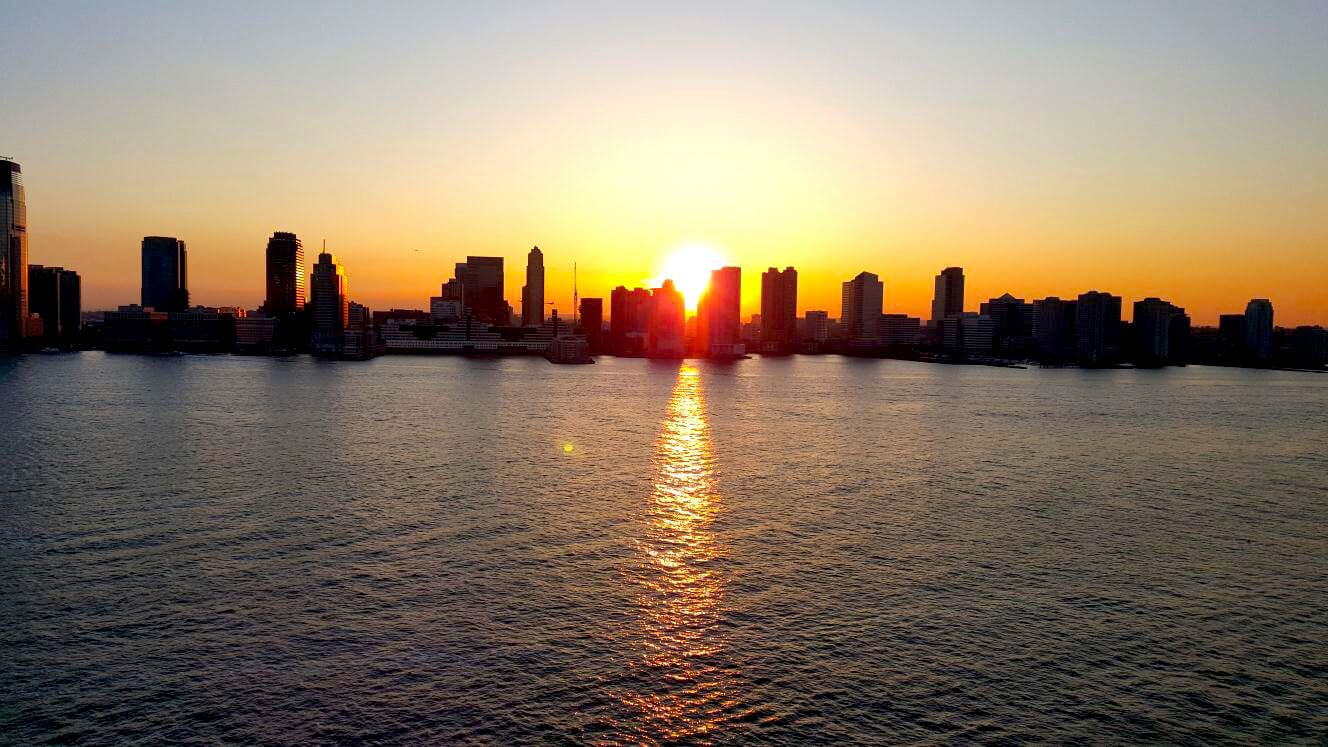 ניו יורק סיטי על ההדסון