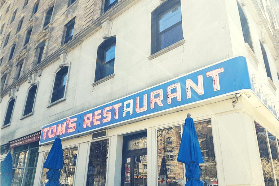 Toms Diner בניו יורק