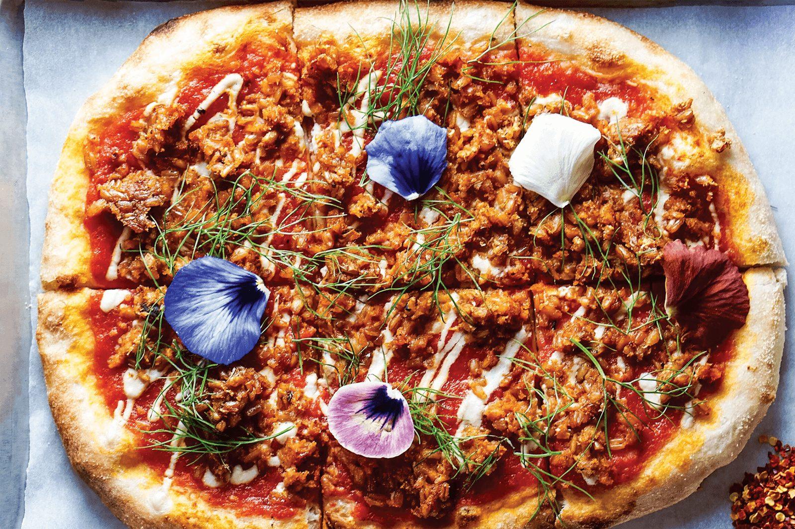 פיצה גורמה וטבעונית בניו יורק