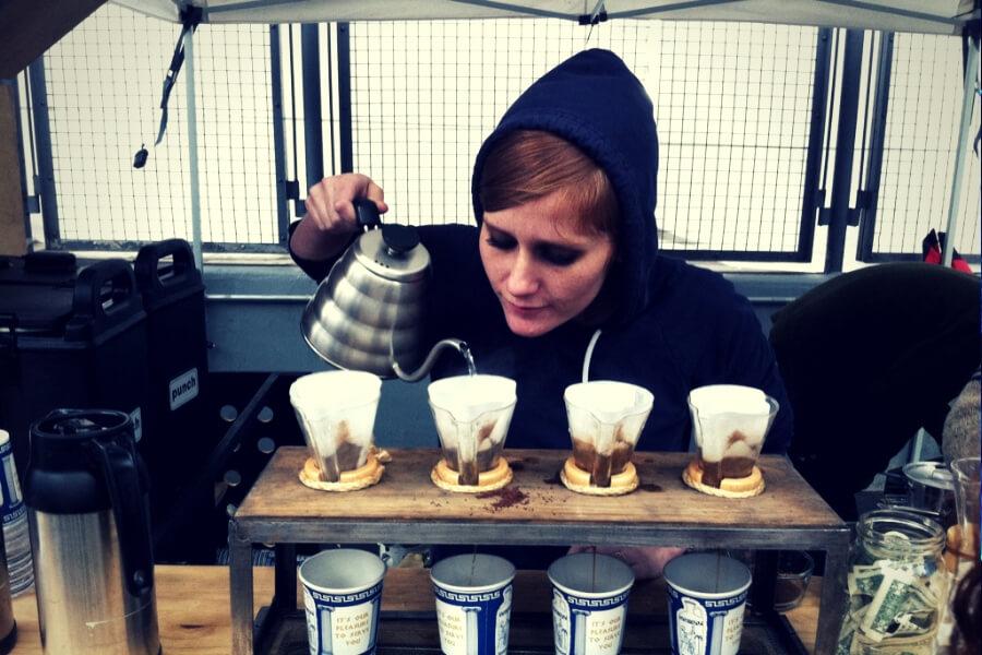 למכורי הקפה, עכשיו גם פסטיבל. באמאשלי ניו יורק