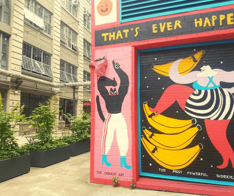 ציורי קיר בברוקלין