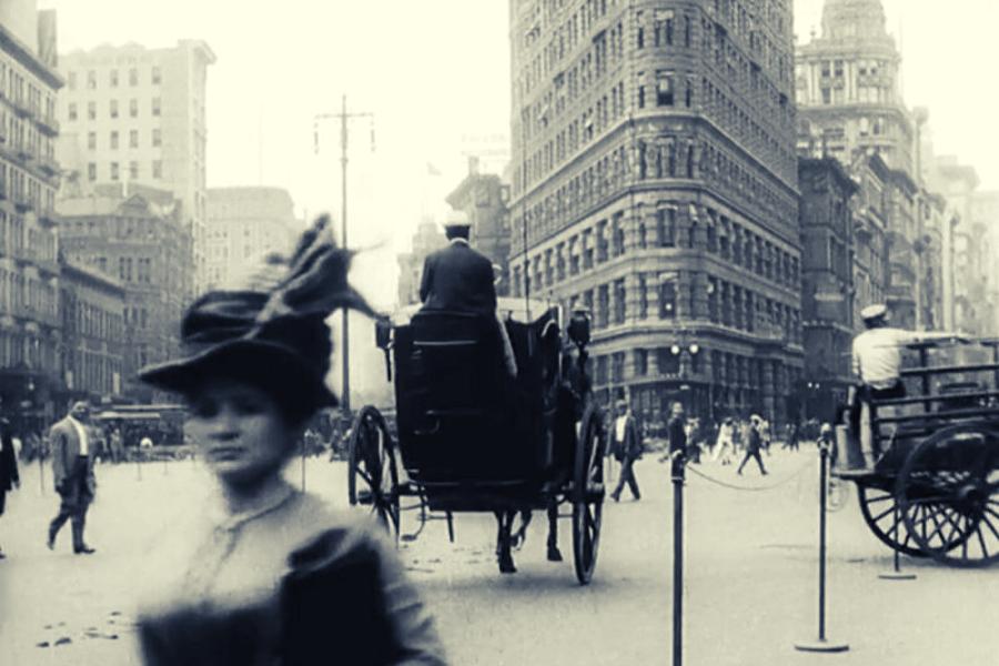 קצת היסטוריה ניו יורקית