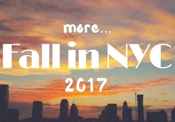 5 דברים לעשות בניו יורק לגדולים ולקטנים, סתיו 2017   חלק ב׳