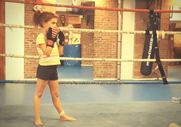 מתאגרפת בניו יורק | מכון איגרוף לכל המשפחה